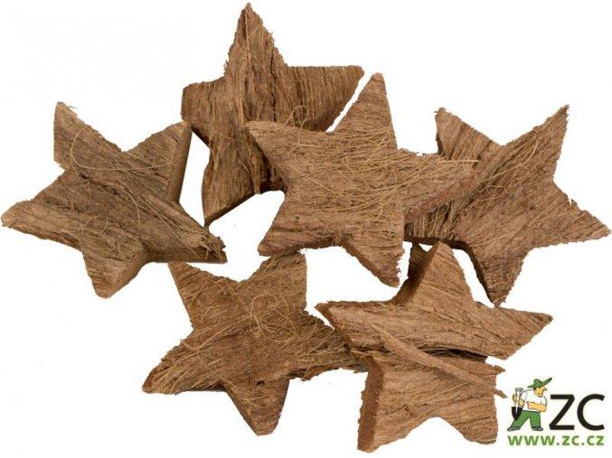 Dekorace - přízdoba - Kokosová hvězda