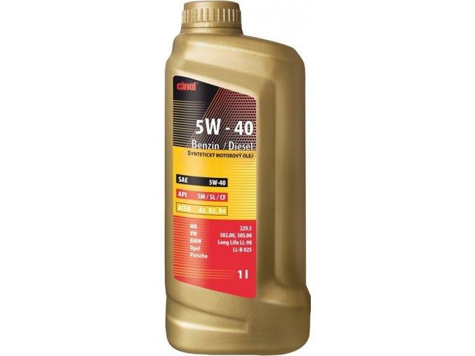 Olej motorový CINOL benzin / diesel - 1L