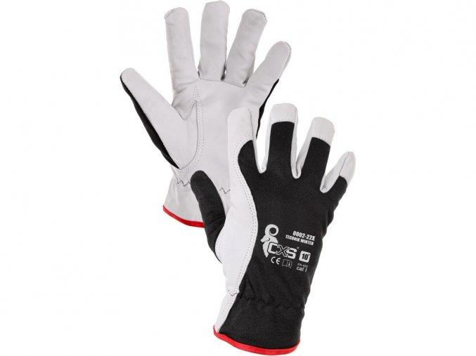 TECHNIK WINTER - zimní pracovní rukavice