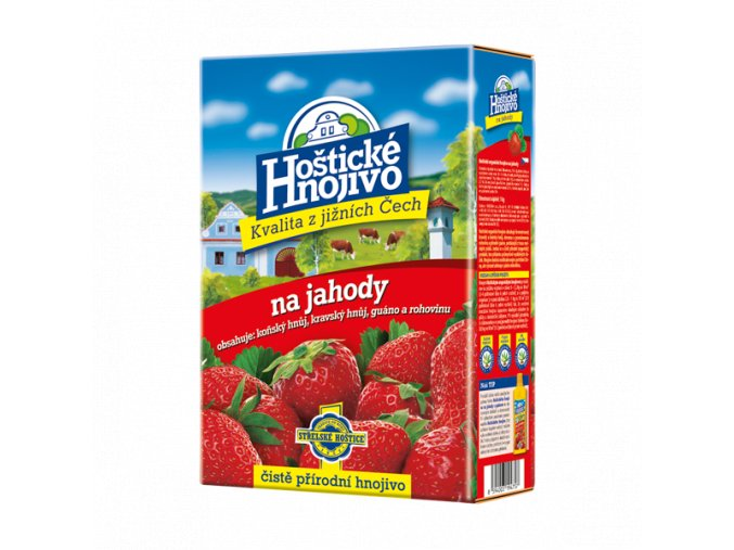 FORESTINA - Hoštické hnojivo na jahody