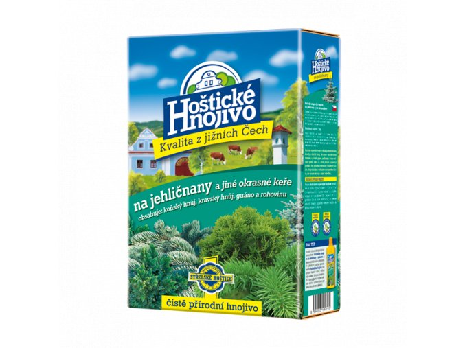 FORESTINA - Hoštické hnojivo na jehličnany