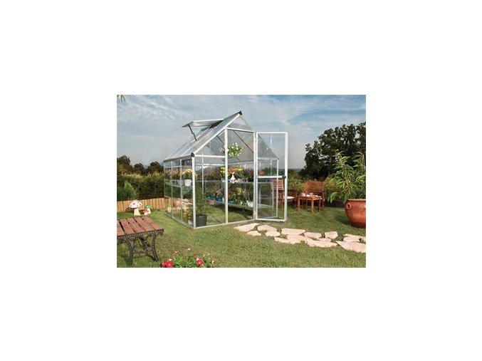 PALRAM HYBRID 6 x 6 - polykarbonátový skleník