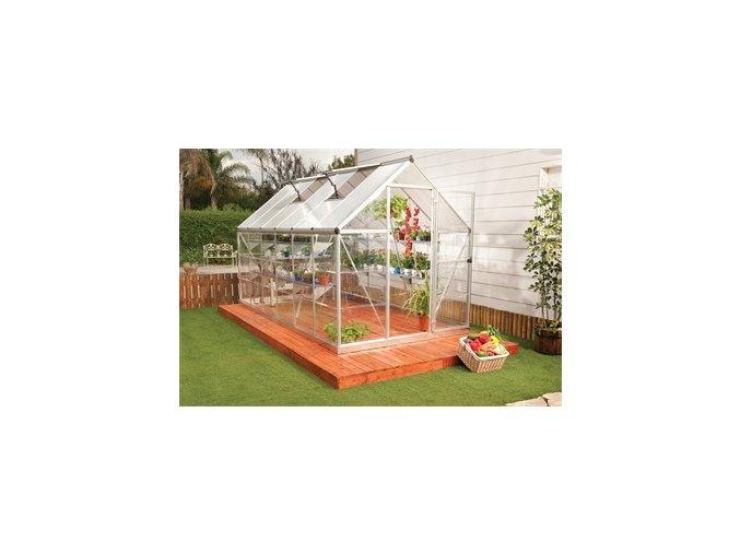 PALRAM HYBRID 6 x 12 -  polykarbonátový skleník