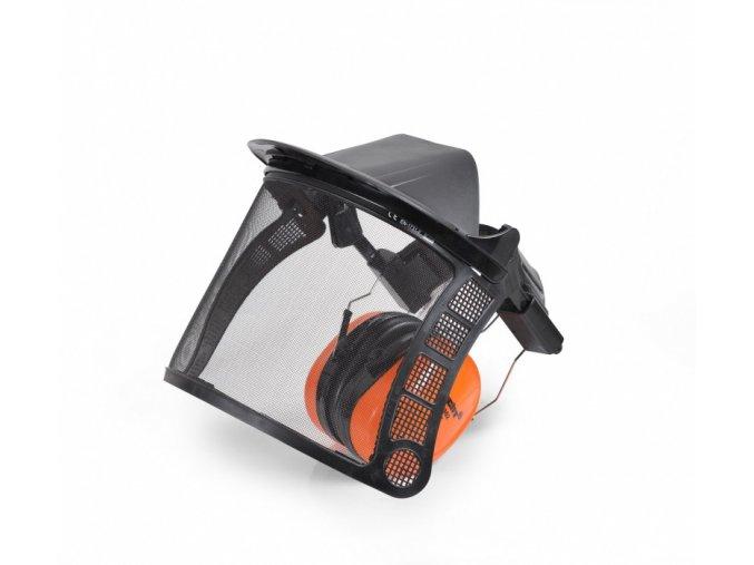HECHT 900105 - ochrana očí - přední štít se sluchátky CE