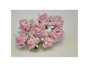 DEKORACE - kytička růžová