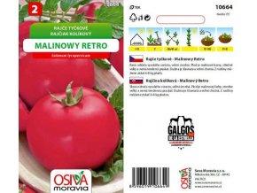 Rajče tyčkové - MALINOWY RETRO