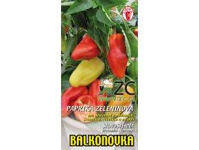 PAPRIKA BALKONOVKA - zeleninová 10 ks