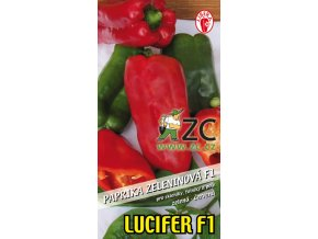 PAPRIKA LUCIFER F1 - zeleninová 15 - 20 s