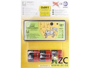 Odhaněč ultrazvukový - OdH1 tichý s bateriemi
