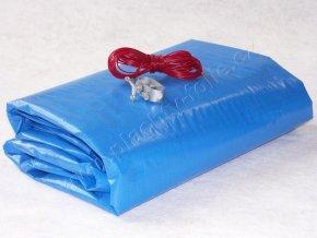 Zazimovací LD-PE tkaná plachta na bazén kruh 4,6 m - fólie 5,8 m