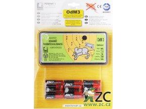 Odhaněč akustický - OdM 3 s bateriemi v blistru