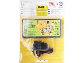 Odhaněč ultrazvukový - OdH1 slyšitelný s adaptérem v blistru