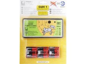 Odhaněč ultrazvukový - OdH1 slyšitelný s bateriemi  v blistru