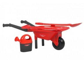 HECHT 57580 - Dětská plastová sada na zahradu s kolečkem