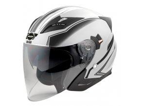 HECHT 51627 M - přilba pro skútr a motocykl