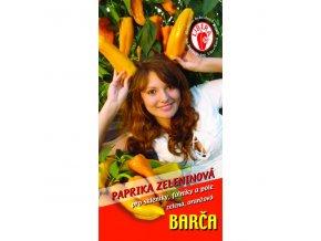PAPRIKA BARČA - oranžová 15 s