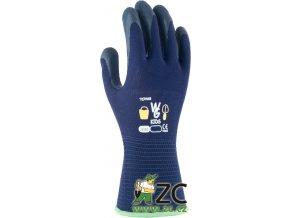 ROSTETO KIDS - dětské pracovní rukavice modré