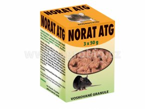 NORAT ATG - voskované granule pro hlodavce