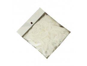 DEKORACE - peříčka bílá 5 g