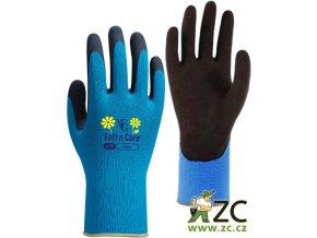 ROSTETO FLORA - pracovní rukavice modré