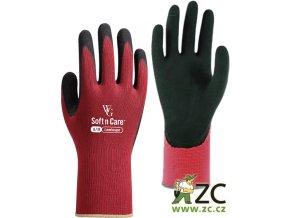 ROSTETO LANDSCAPE - pracovní rukavice červené