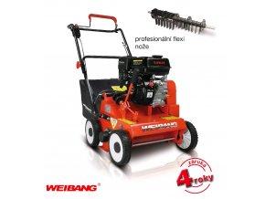WEIBANG WB 384 RC - benzínový travní provzdušňovač