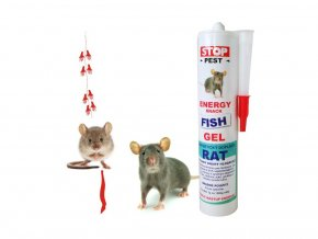STOP-PEST - ENERGY GEL FISH RAT HLODAVEC 230 g