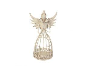 Anděl dekorační 21 cm