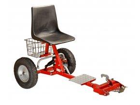 DAKR BPR - přípojná sedačka pro stroje PANTER