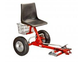 DAKR BPR 2 - přípojná sedačka pro stroje PANTER