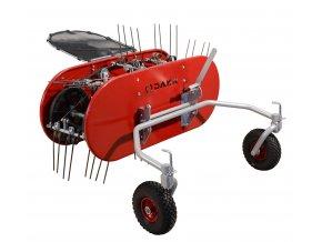 DAKR OP-114 - obraceč a shrabovač pro PANTER