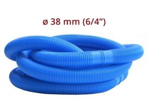 """Bazénová hadice - modrá 6/4"""" 38 mm 1.5 m díl"""