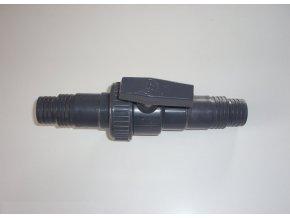 Uzavírací ventil pro hadice 32 a 38 mm