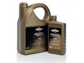 Olej motorový B & S 5W30 Long Life - 1 l