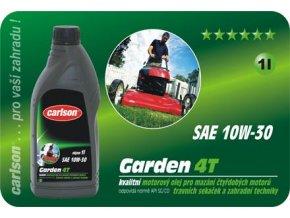 Olej motorový CARLSON GARDEN 4T 10W-30 - 1L