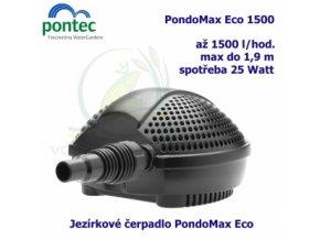 PONTEC - PondoMax Eco 1500 jezírkové čerpadlo