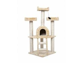 HECHT GANDALF B - škrábadlo béžové pro kočky