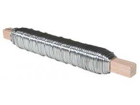 Vázací drátek - 0,65 mm, 0,1 kg, zinkovaný