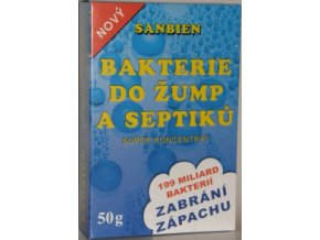 SANBIEN - bakterie do žump a septiků