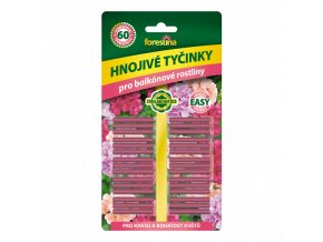 FORESTINA - Hnojivé tyčinky pro balkónové rostliny