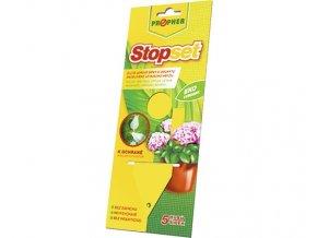 Žluté lepové šipky 5 ks - pokojové rostliny