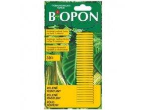 BIOPON - tyčinky na zelené rostliny