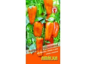 PAPRIKA AMÁLKA - oranžová zeleninová 15 - 20 s