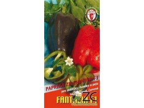 PAPRIKA FANTAZIA F1 - fialová zeleninová 15 - 20 s