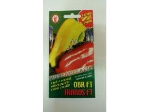 PAPRIKA OBR F1 IKAROS F1 - červená a žlutá