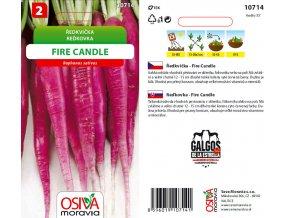 ŘEDKVIČKA FIRE CANDLE - tenké kořeny 5 g