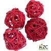 Dekorace - přízdoba - Lata ball 4 ks