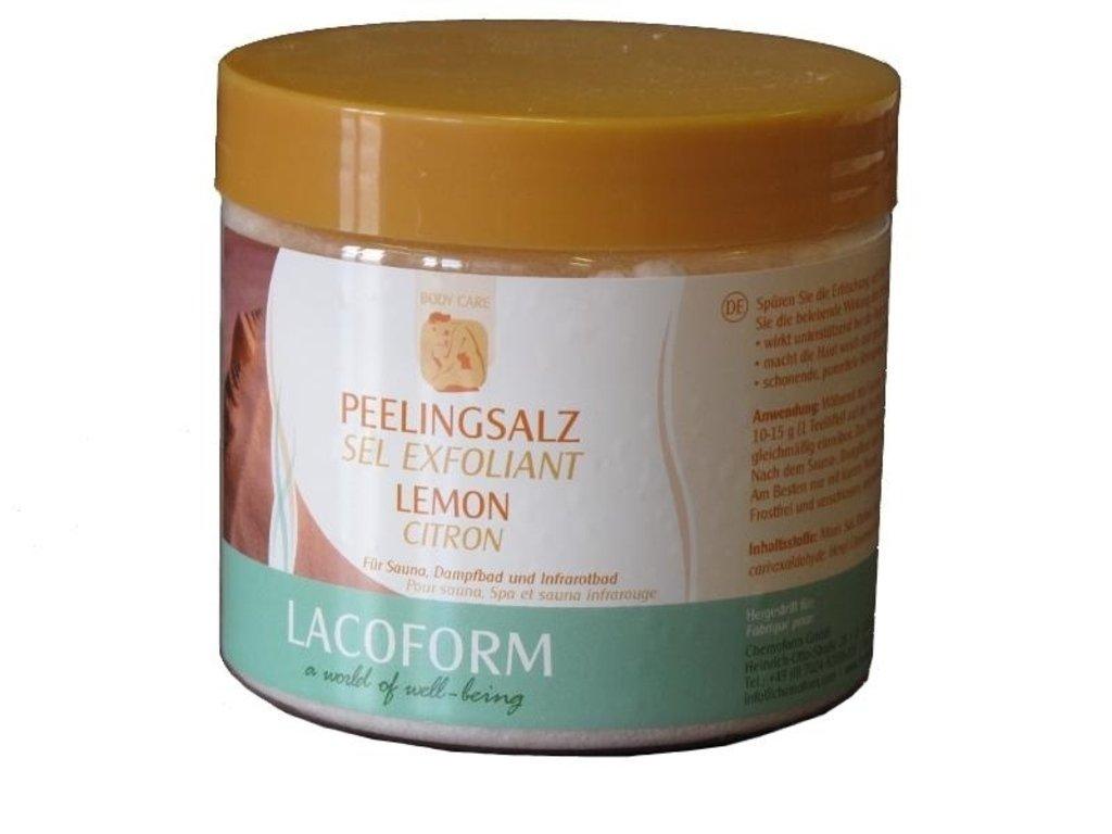 Sůl peelingová 500g - citron