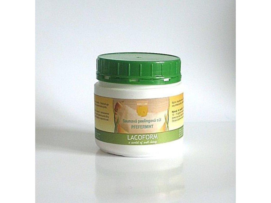 Sůl peelingová 500g - peppermint