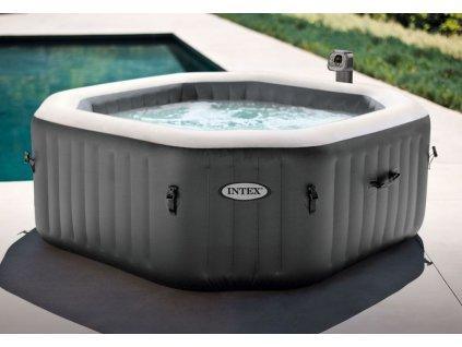 Bazén vířivý nafukovací Pure Spa - Bubble HWS čtverec - NOVĚ V ANTRACITOVÉ BARVĚ
